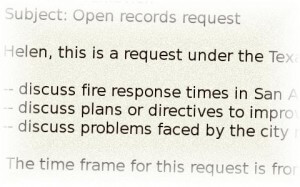 Open Records Requests