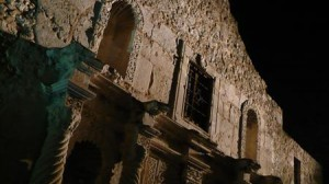 The Alamo at Night