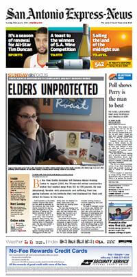 Nursing Home Front Page