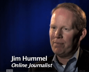 Jim Hummel former TV reporter is now online how is he monetizing it on Vimeo