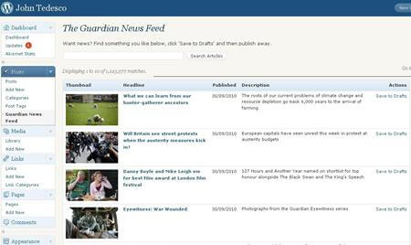 Guardian WordPress Plugin