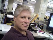 Scott Huddleston, reporter for the San Antonio Express-News