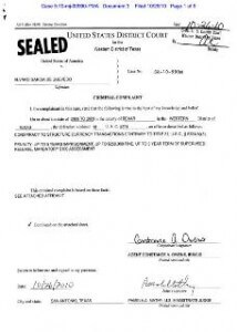 Federal court records in money laundering case