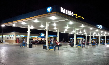Valero Station in San Antonio