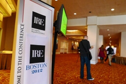 IRE 2012 Conference in Boston