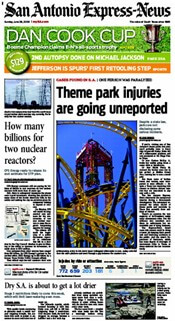 Theme park injuries go unreported