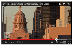 Telling the story of the Texas Legislative session with a creative timelapse video   John Tedesco