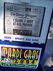 A sliver of hope for the New Orleans Times-Picayune? Only if spin is true
